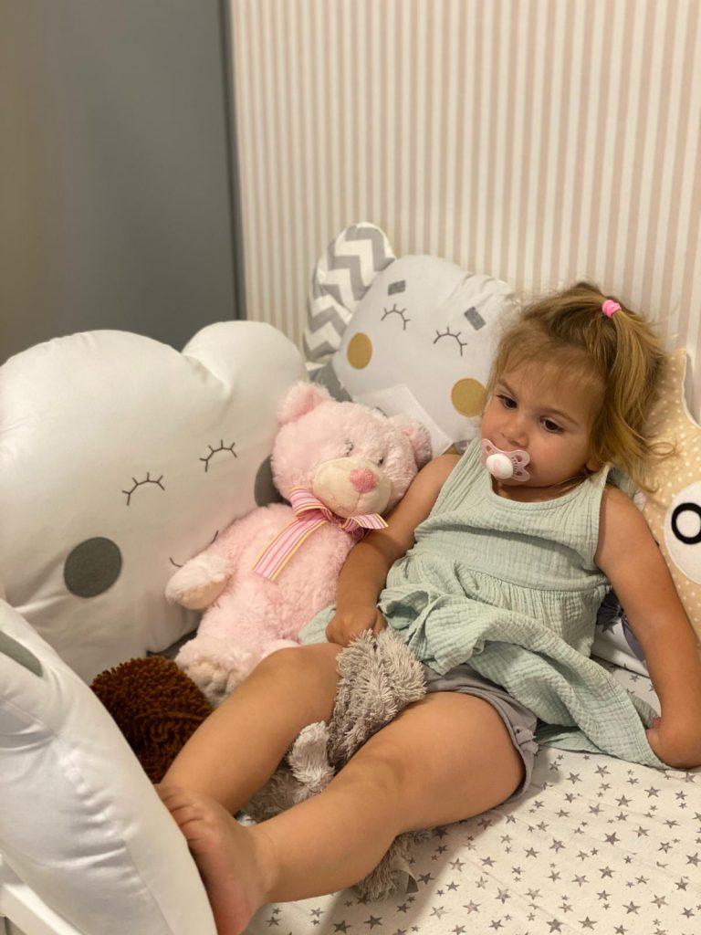תמונה מתוך אלבום פרטי של אביגיל המדהימה, תינוקת מתוקה שההורים שלה בחרו בי כיועצת השינה שלהם