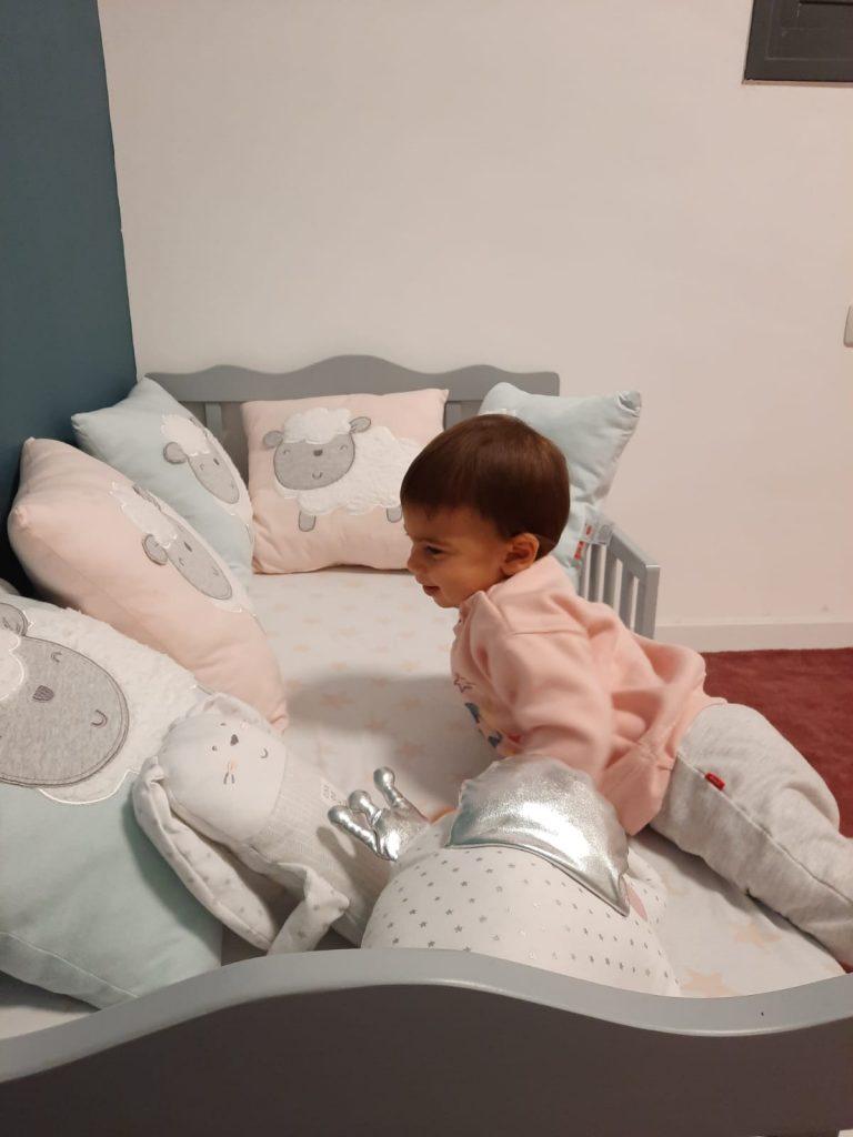 תמונה מתוך אלבום פרטי של אלכס המדהימה, תינוקת מתוקה שההורים שלה בחרו בי כיועצת השינה שלהם